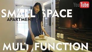 Penggunaan Furniture Multifungsi Untuk Apartemen Kecil