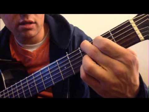 Landslide tutorial easy strumming and chord breakdown