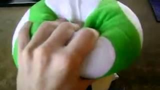 Смазливая Марио рис грибы Doll (зеленый)