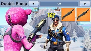 i found a DOUBLE PUMP GLITCH in Fortnite..