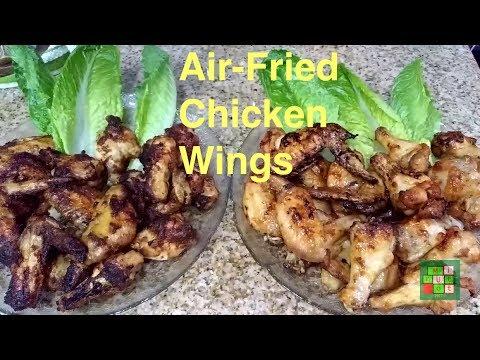 [Cuộc sống ở Mỹ] - Air-Fried Chicken Wings with Fish/Teriyaki Sauce | Gà chiên không dầu - [Tập #88]