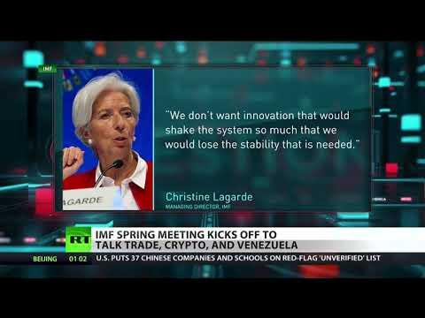 Venezuela, Bitcoin & Trade On IMF's Agenda