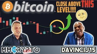 If BITCOIN Closes ABOVE THIS Level a MASSIVE PUMP IS COMING!!!!