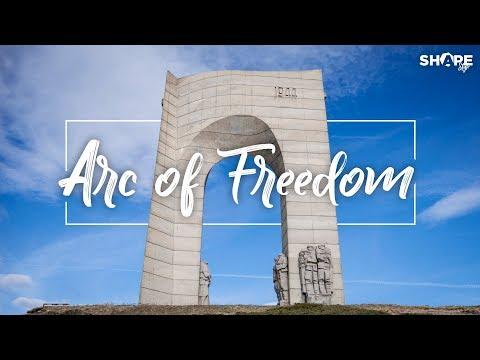 Arc Of Freedom - Bulgaria (Арката на Свободата Стара Планина, България) Drone Travel VIdeo