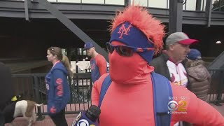 Mets Fans Go Wild For Opening Day