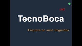 TecnoBoca en VIVO Pregunta antes del SORTEO!!!