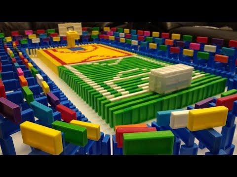 דומינו ראלי 8! - Domino Rally 8! - Amazing domino projects