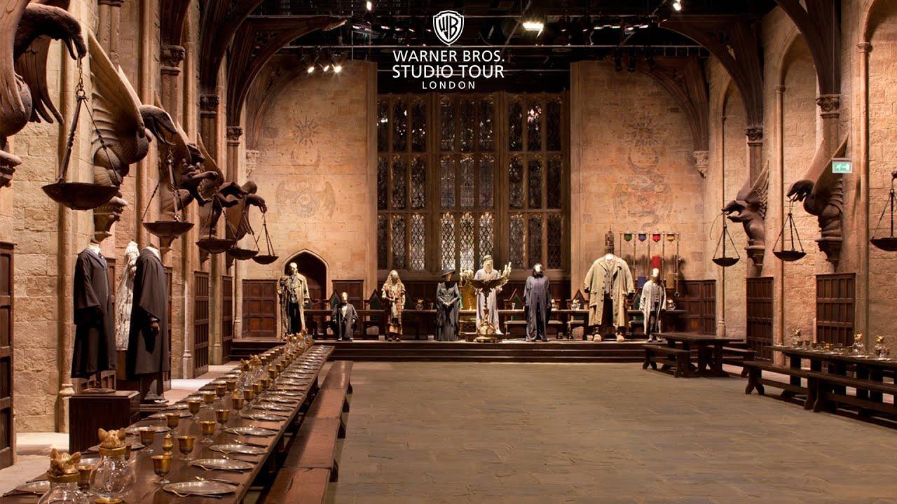 The Great Hall Set In 360 Degrees Warner Bros Studio