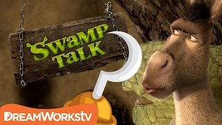 What Was Captain Hook's Name Before The Hook? | SWAMP TALK WITH SHREK AND DONKEY