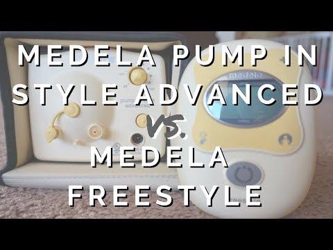 Medela Pump In Style Advanced VS. Medela Freestyle Breast Pump Comparison
