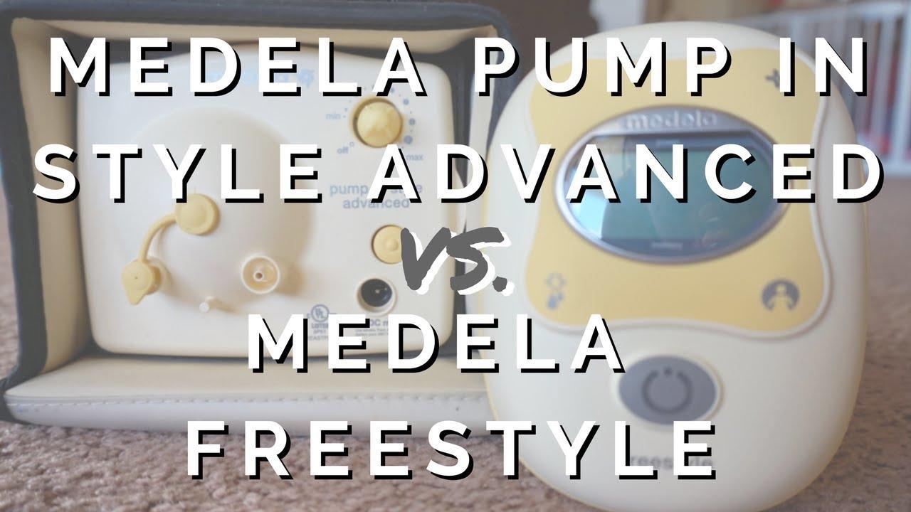 Medela Pump In Style Advanced Vs Medela Freestyle Breast Pump
