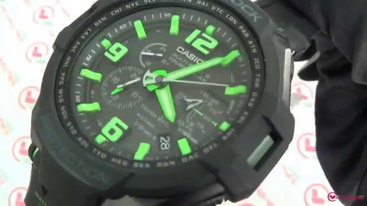 Review and instructions for g-shock gw-4000d-1a (casio 5087.