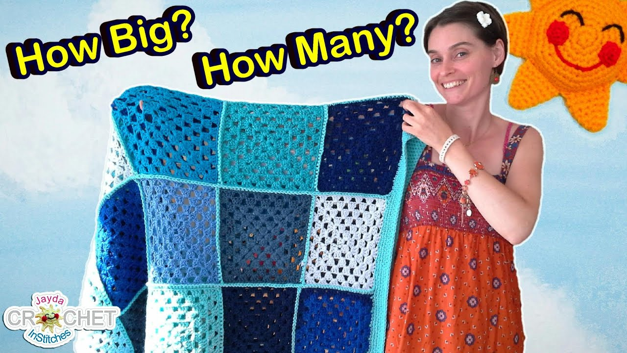 Granny square blanket sizes crochet faq youtube dt1010fo