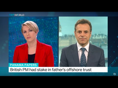 British PM had stake in father's offshore trust, Jon Brain reports from London