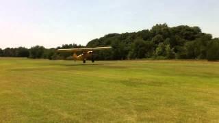 Pietenpol Aircamper Departing Cedar Mills