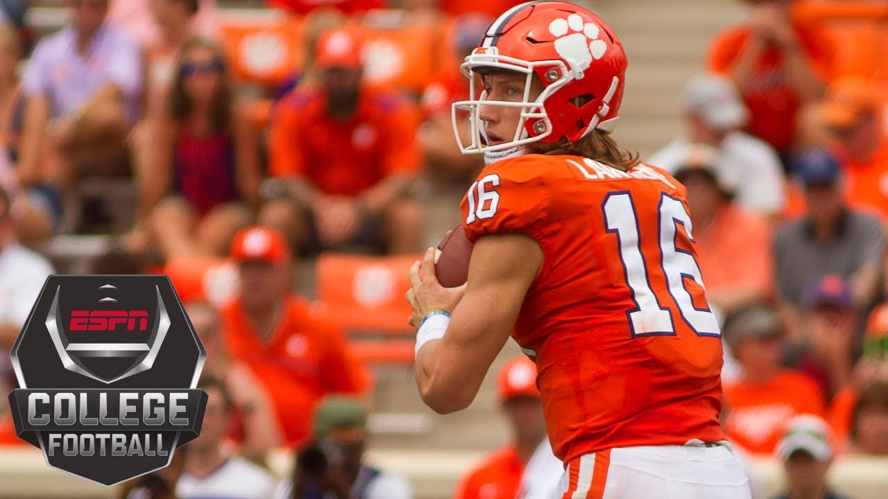 College Football Highlights No 2 Clemson Routs Georgia Southern 38 7 Espn