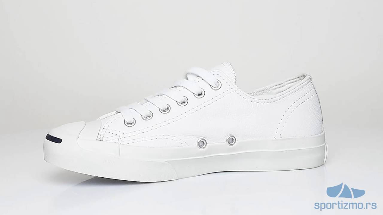 33d8f198667a CONVERSE PATIKE Jack Purcell Leather Unisex - YouTube