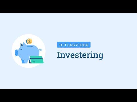 investering toevoegen aan je boekhouding