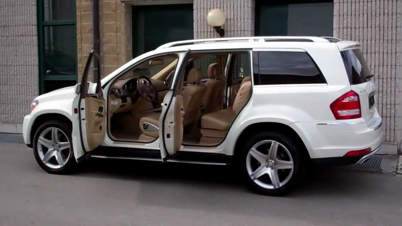 Carcompany Bolzano 2011 Mercedes Gl 550 White Beige Youtube