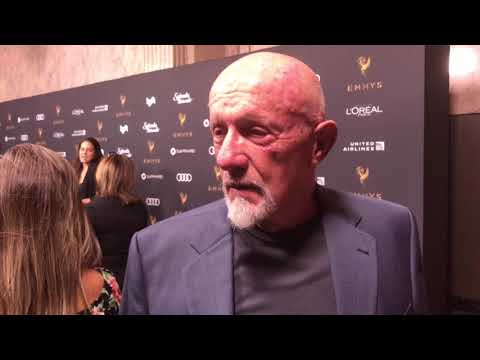 Jonathan Banks 'Better Call Saul'  on red carpet at 2017 Emmys Performers Reception