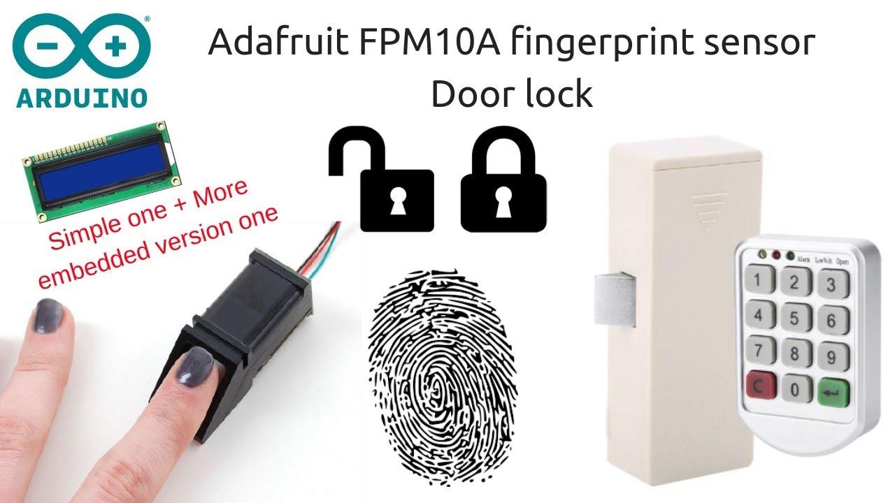 Arduino Fingerprint Door Lock: 4 Steps