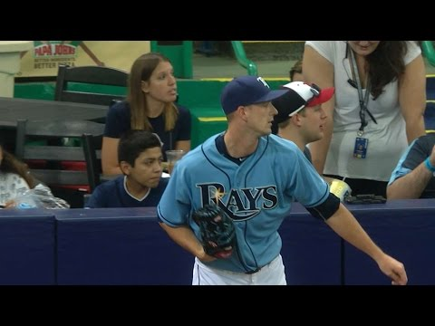 BOS@TB: Smyly strikes out 11 over six scoreless