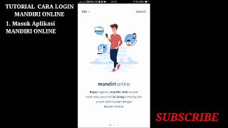 Login Mandiri Online Mandiri Mobile