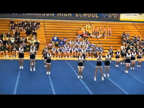 Ithaca Middle School Cheer round 3