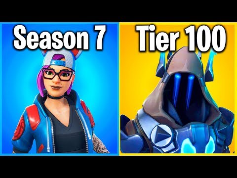 RANKING EVERY SEASON 7 SKIN IN FORTNITE (Battle Pass Cosmetics) thumbnail