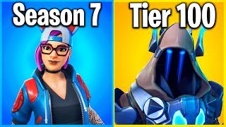 RANKING EVERY SEASON 7 SKIN IN FORTNITE (Battle Pass Cosmetics)