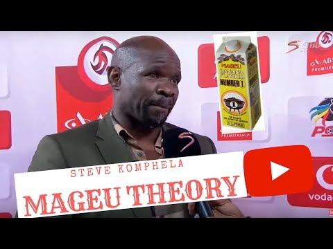"Steve Komphela's Interview ""Mageu Theory"""