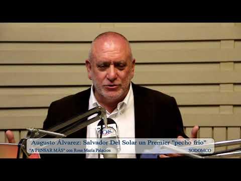 """Augusto Álvarez: Salvador Del Solar un Premier """"pecho frio"""""""