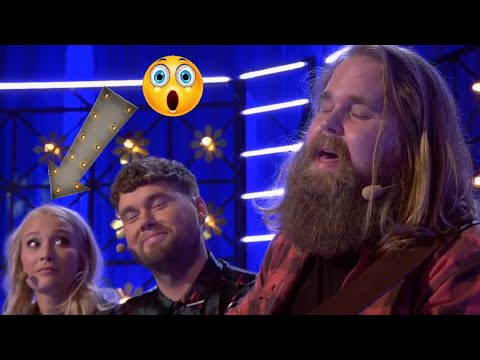 Swedish Idol Winner Chris Kläfford Surprises Everyone With His Powerful Voice. Goosebumps From 0:55