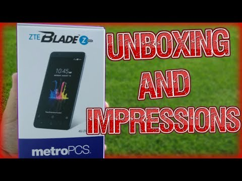 ZTE Blade Zmax Unboxing & First Impressions