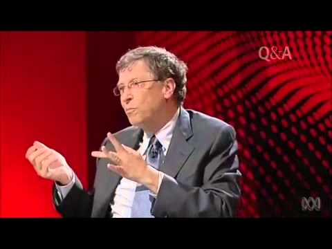 QandA Bill Gates on the affordability of medicine and patents