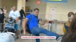 Навального закидали сардельками в Домодедово