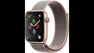 Unboxing Apple Watch Series 4 44mm GPS Gold Pink Sand Sport Loop