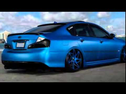 infiniti m35 with aimgain body kit by mc customs youtube. Black Bedroom Furniture Sets. Home Design Ideas