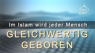 Im Islam wird jeder Mensch gleichwertig geboren | Stimme des Kalifen