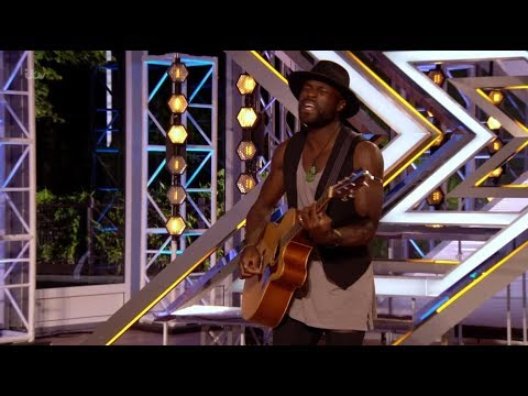 Kevin Davy White: French Guy Shows Off His Amazing Singing Skills | The X Factor UK 2017