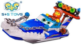 Analogue LEGO Speedboat S+S Toys Transport ES80088R