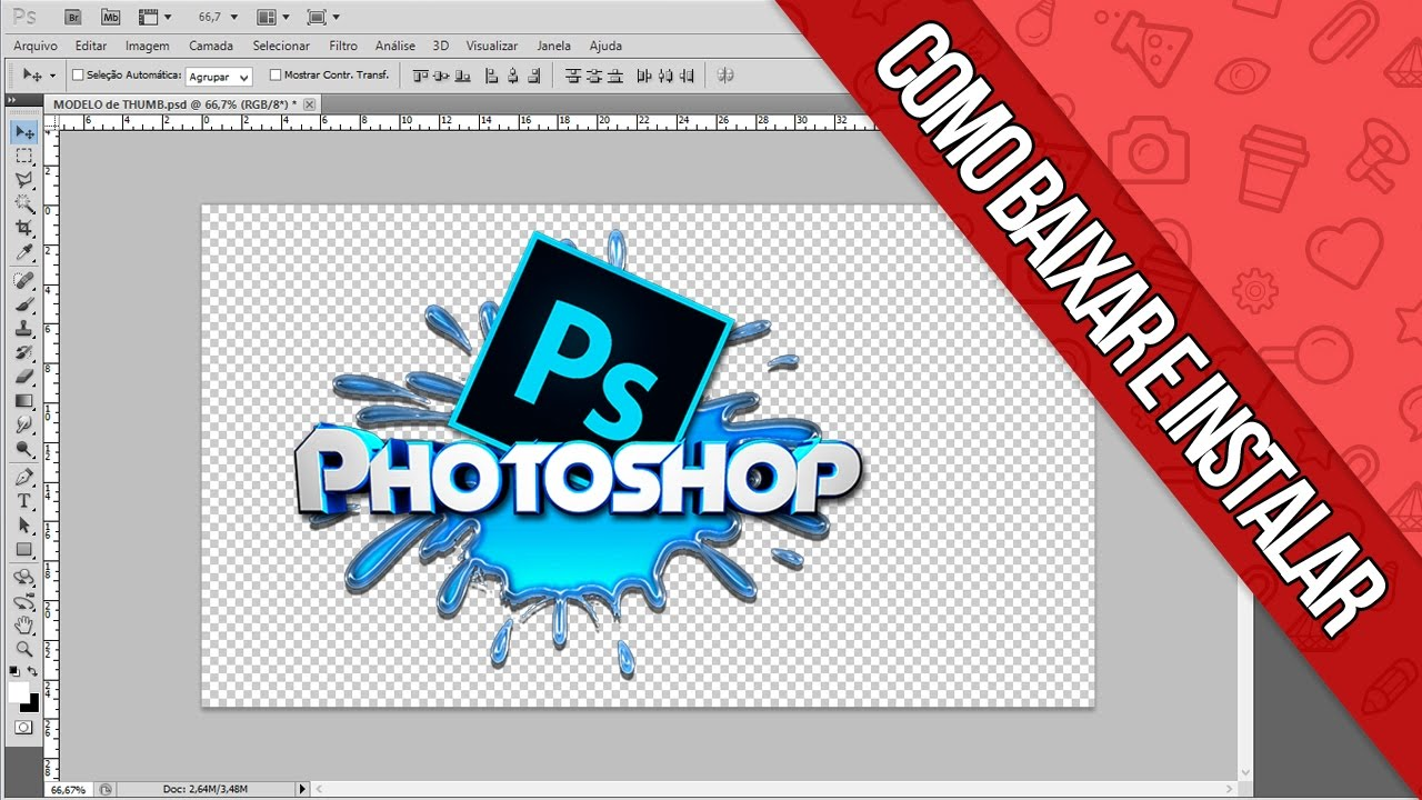 TUTORIAL – COMO BAIXAR INSTALAR E CRACKEAR PHOTOSHOP CS5