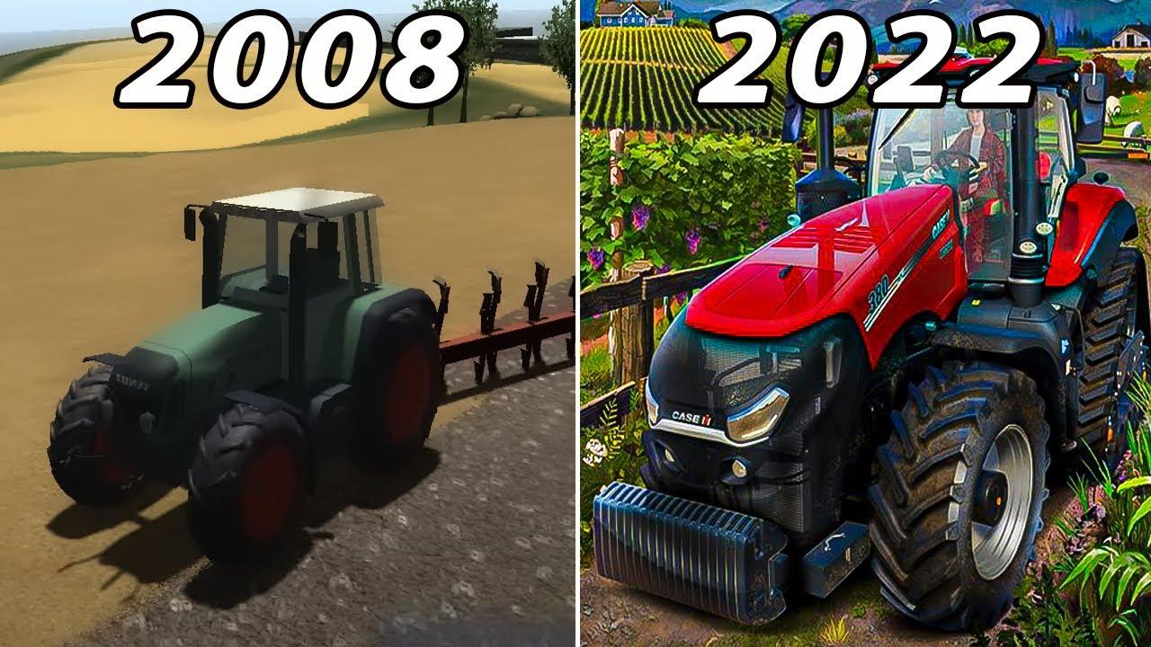 Evolution Of Farming Simulator 2008 - 2021