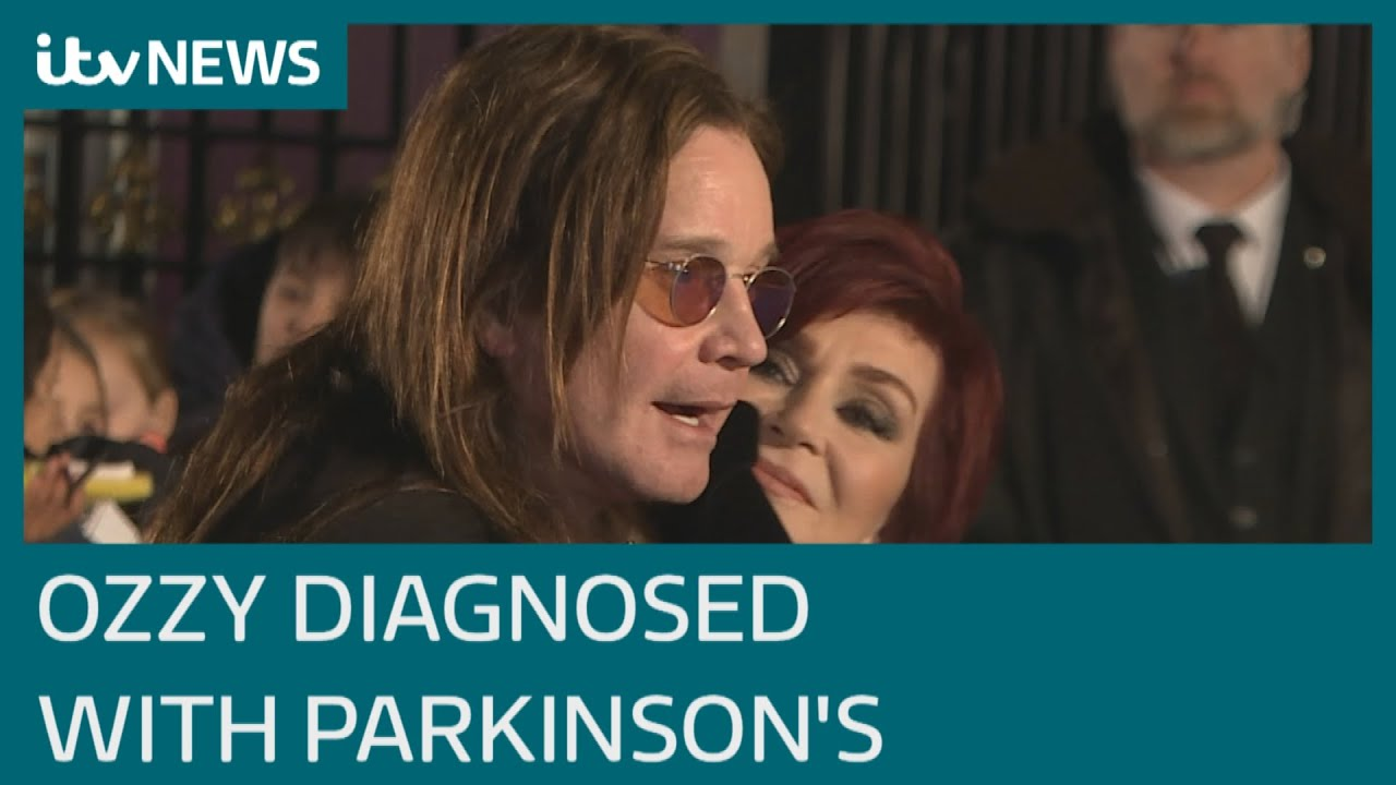 Ozzy Osbourne reveals he has been diagnosed with Parkinson's ...