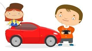 Çizgi film – Doktor Mac Wheelie oyuncak araba hediyesi