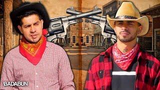 YouTubers VS Jenga Gigante | Los más rápidos del Oeste