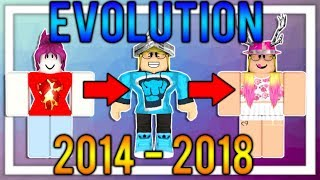 My ROBLOX Character EVOLUTION! | POOR TO RICH