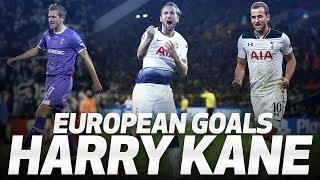HARRY KANE | SPURS' ALL-TIME RECORD EUROPEAN GOALSCORER | ALL 24 GOALS