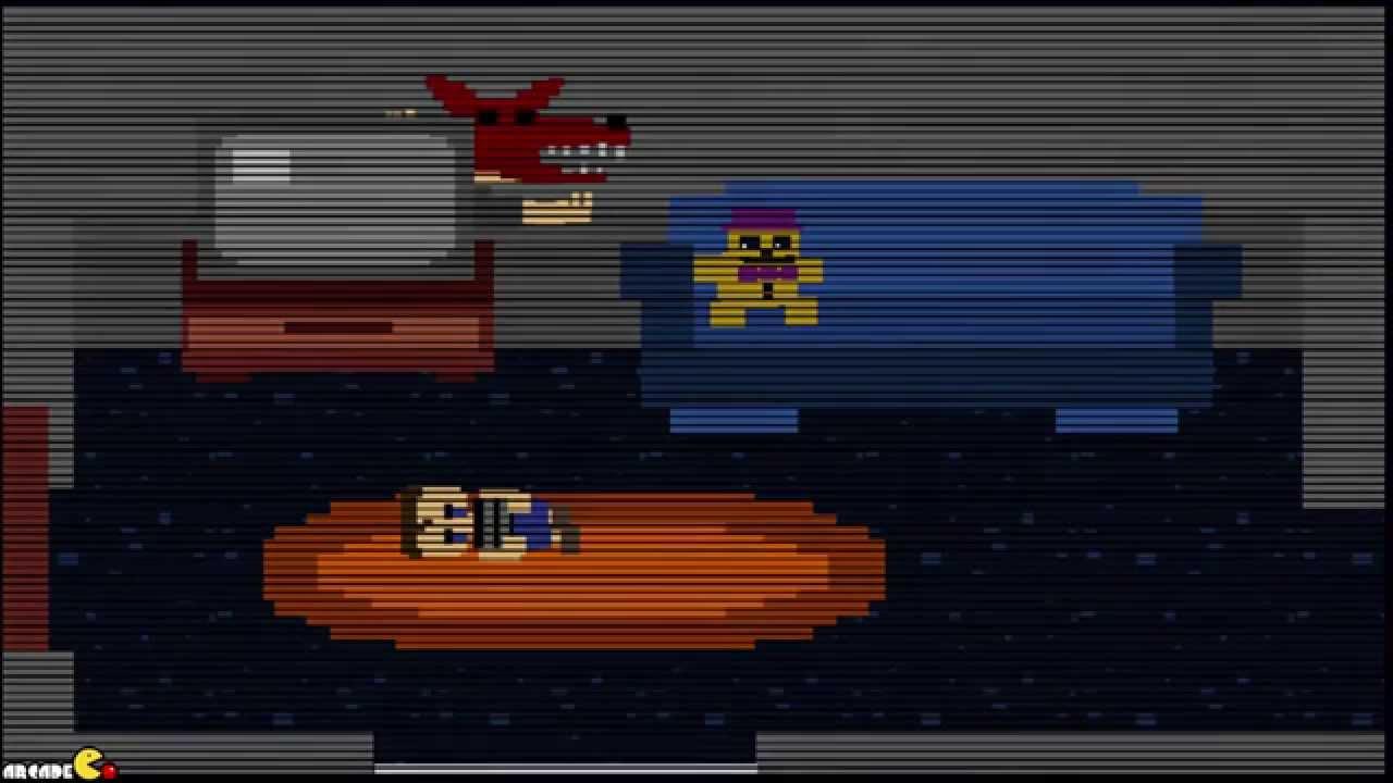 Scratch Studio - Five nights at Freddy's minigames