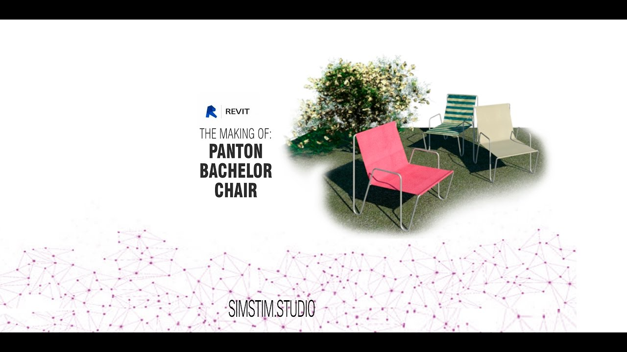 REVIT FAMILIES: Panton Bachelor Chair